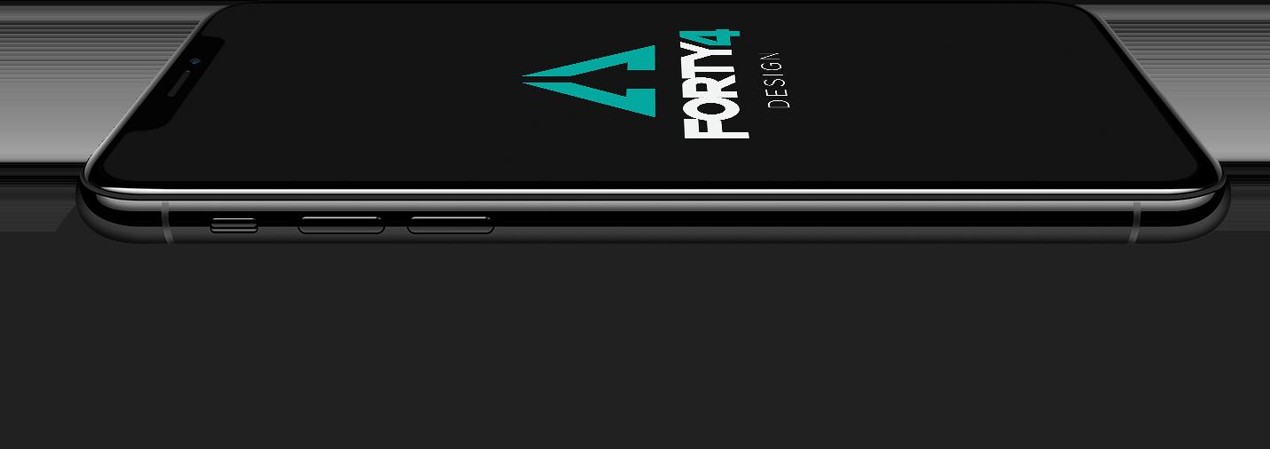 Forty4 Design - Mobile UI/UX Design